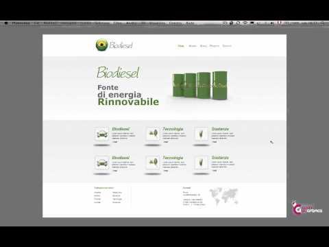Basi Per La Creazione Di Un Template Web - Corsi Di Grafica