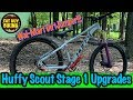Huffy Scout Stage 1 Upgrades