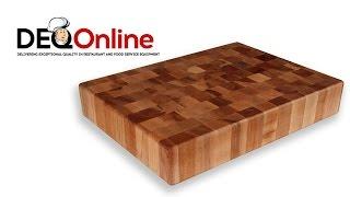 John Boos Edge Grain And End Grain Wood Cutting Boards
