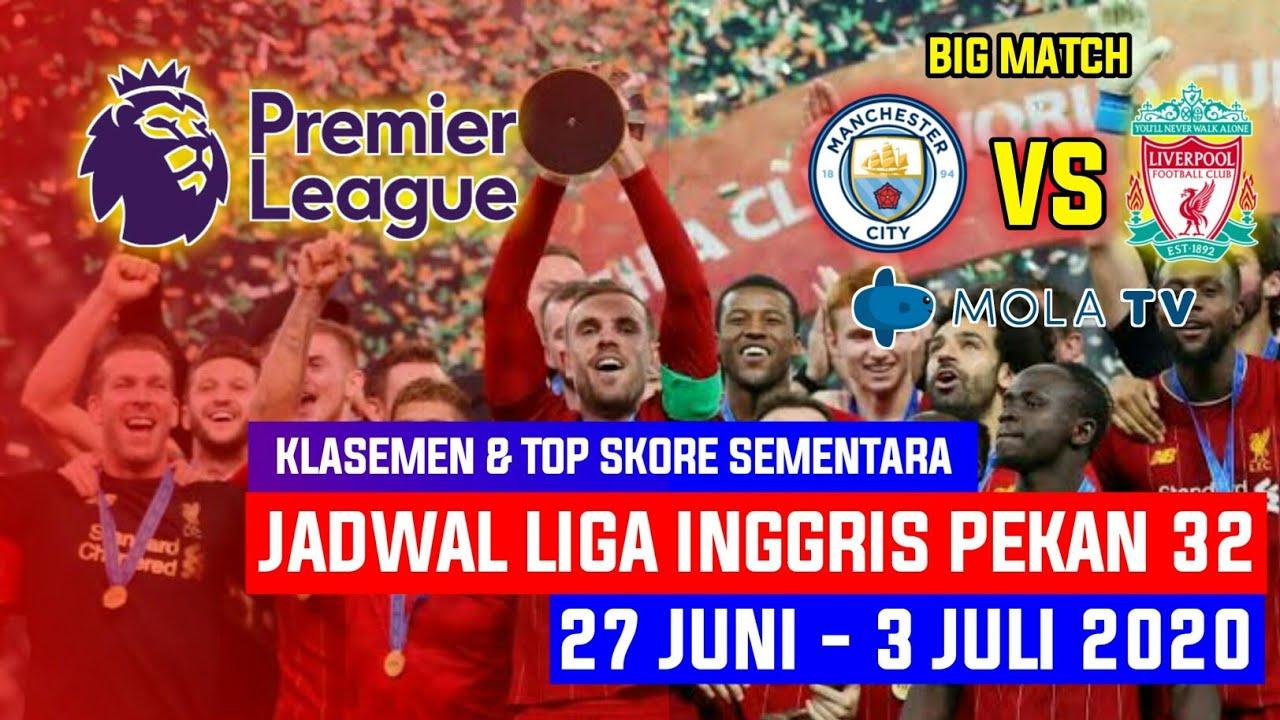 Jadwal Liga Inggris Malam Ini • Jadwal Liga Inggris ...