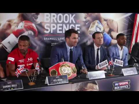 PURE HEATED! - KELL BROOK  v ERROL SPENCE - **FULL & UNCUT** PRESS CONFERENCE (SHEFFIELD)