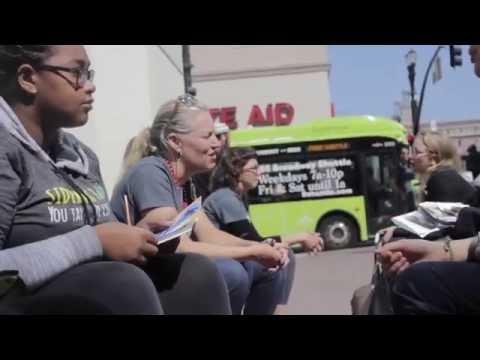 Sidewalk Talk Community Listening Project - Live Footage from Oakland, CA
