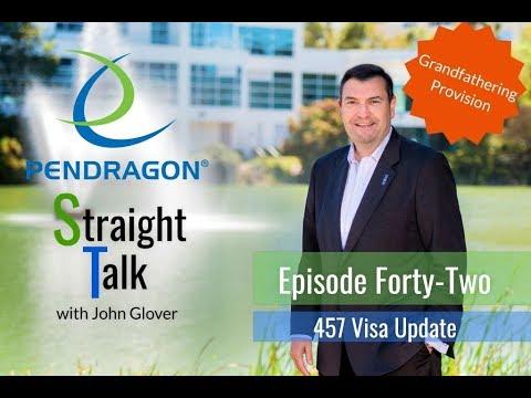 Pendragon Straight Talk: 457 Grandfathering Provision