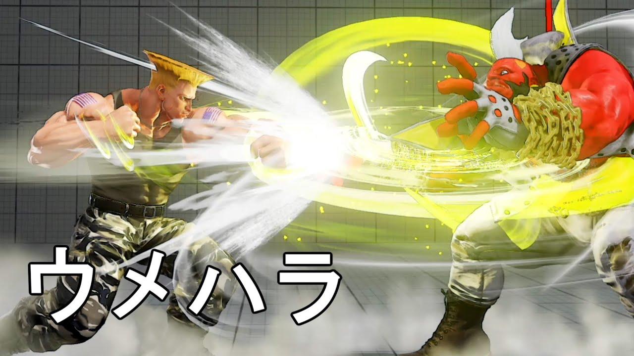 ウメハラガイルのバーディー戦 対グラマスバーディー 3先 Daigo Umehara(Guile) VS YoShiPy(Birdie)  FT3