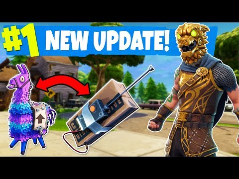NEW C4 & SUPPLY LLAMA FORTNITE UPDATE PREP! Top Fortnite Player LIVE (Fortnite Battle Royale)