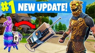 The NEW Fortnite UPDATE got postponed... BUT we still won anyways!