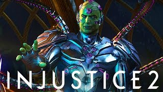 Injustice 2: Brainiac & Robin In Game First Look! (Injustice Gods Among Us 2)