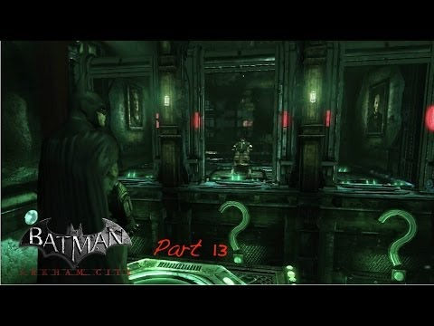 Let's Play Batman Arkham City Part 13 Secrets And Riddler Hostage 3