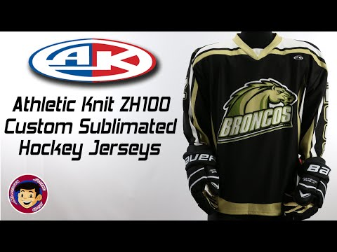 Athletic Knit ZH100 Custom Sublimated Hockey Jerseys - Homegrown Sporting Goods