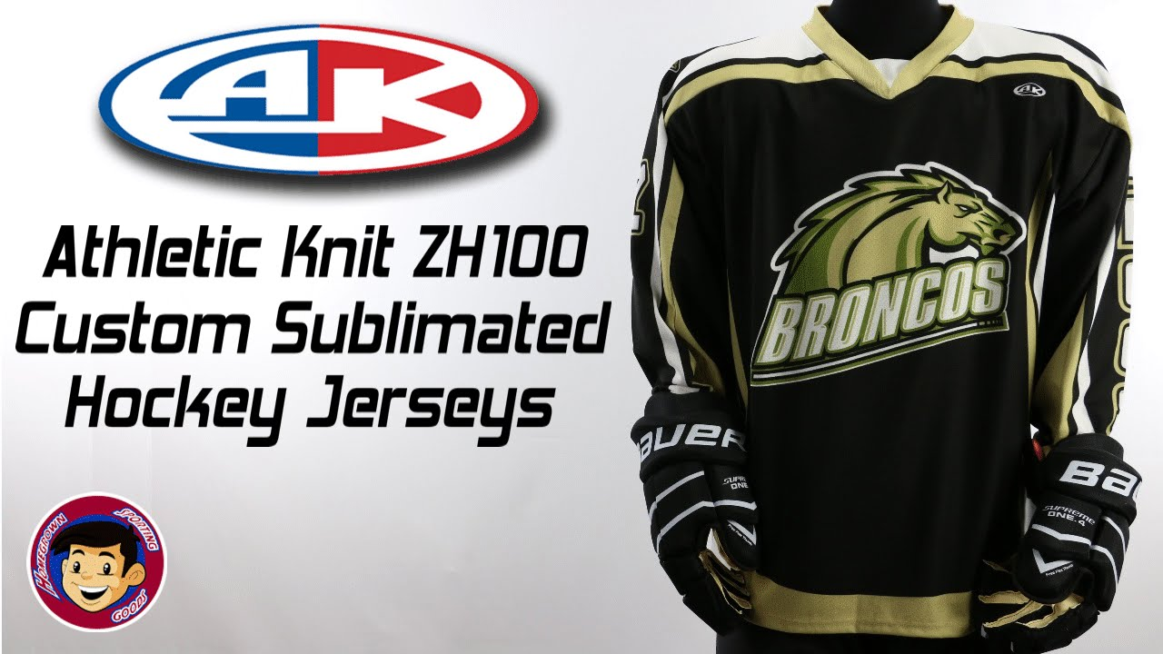 Athletic Knit ZH100 Custom Sublimated Hockey Jerseys - Homegrown ... db574b293