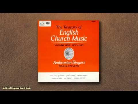 """Treasury of English Church Music"" - Disc 1: Ambrosian Singers 1965 (Denis Stevens)"