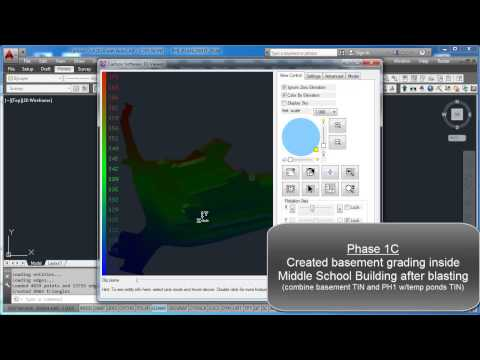 Overview on Surface Modeling by Job (Phase 1 and 2)