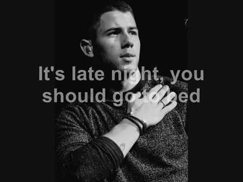 Nick Jonas - Area Code (Lyrics video)