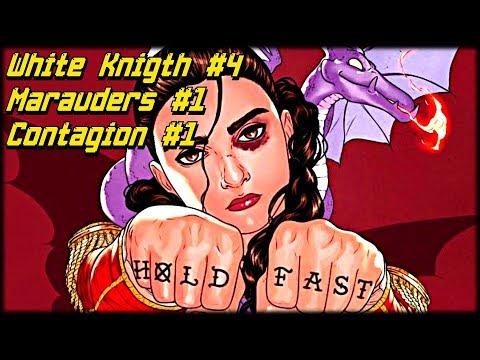 Новинки 23.10: Marauders #1, Batman: Curse of the White Knight #4, Nightwing #65, Contagion #1