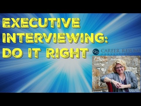 Executive Job Interview Tips: Top 5 Pet Peeves of Career Decision Makers & Hiring Managers