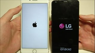 LG G6 VS IPHONE 7 PLUS SPEED TEST!