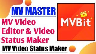 MV Master   MV Video Status Maker   Mv Master Kaise Use Kare   MV Bit Master   MV Master App screenshot 1