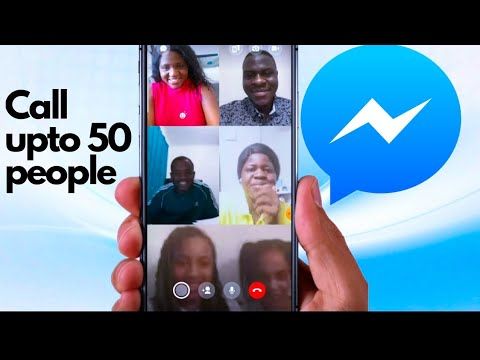 How To Do Video Conference Calls On Facebook Messenger| Call Upto 50 People