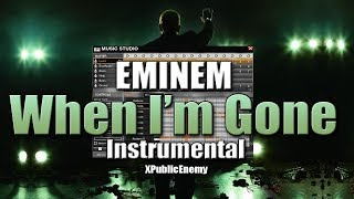 APB Music Studio - Eminem - When I'm Gone (Instumental)