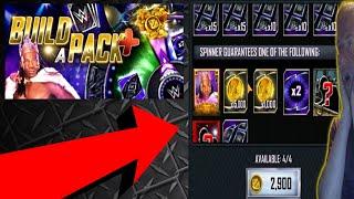 15K CREDITS REWARD!? - New BUILD A PACK + Mini-Game Gamemode | WWE SUPERCARD
