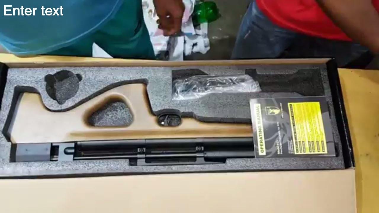 Artemis P15 PCP Air gun unbixing and review HD