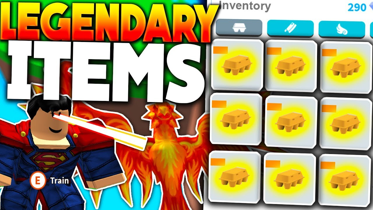Unlocking God Tier Legendary Items Update Roblox Egg - youtube farming simulator roblox