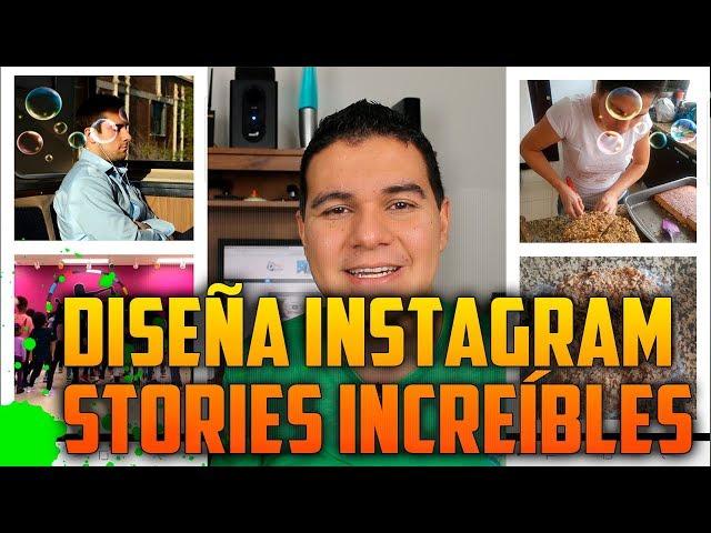 Diseños increíbles de Instagram Stories