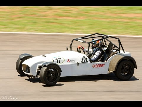 Taking on a Lotus 7 Race Car round Zwartkops