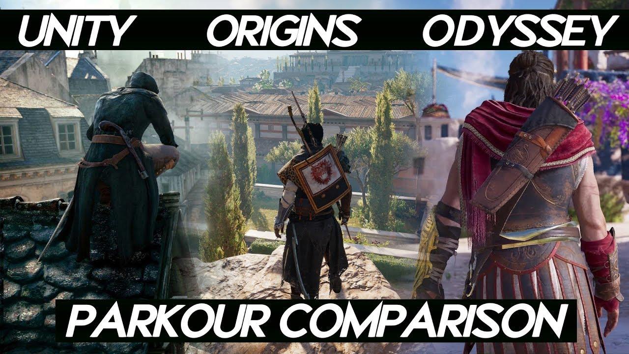 Ac Odyssey Vs Ac Black Flag Vs Ac Origins Map Size Comparison