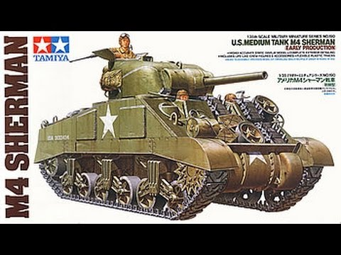 Tamiya Sherman M4 - Kit Review