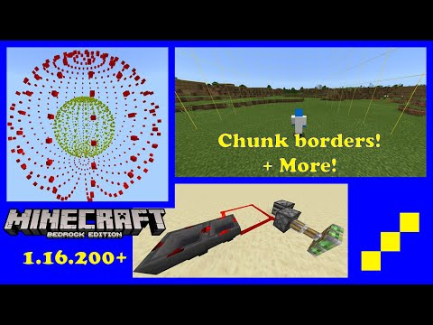 These 3 resource packs are ESSENTIAL for Minecraft Bedrock Technical players!   Addon Showcase ep 3