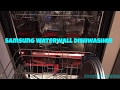 Samsung Waterwall Dishwasher 9960 is SO innovative Great appliance for big families.