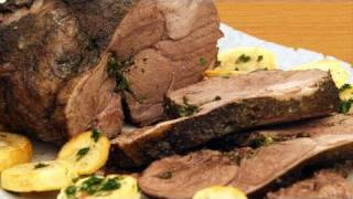 How To Roast Leg Of Lamb Recipe (roasting Leg Of Lamb)