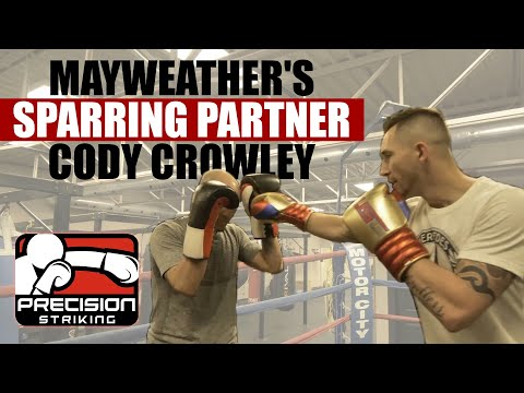 Watch me get in the Ring with Cody 'The Crippler' Crowley | Mayweather's Sparring Partner