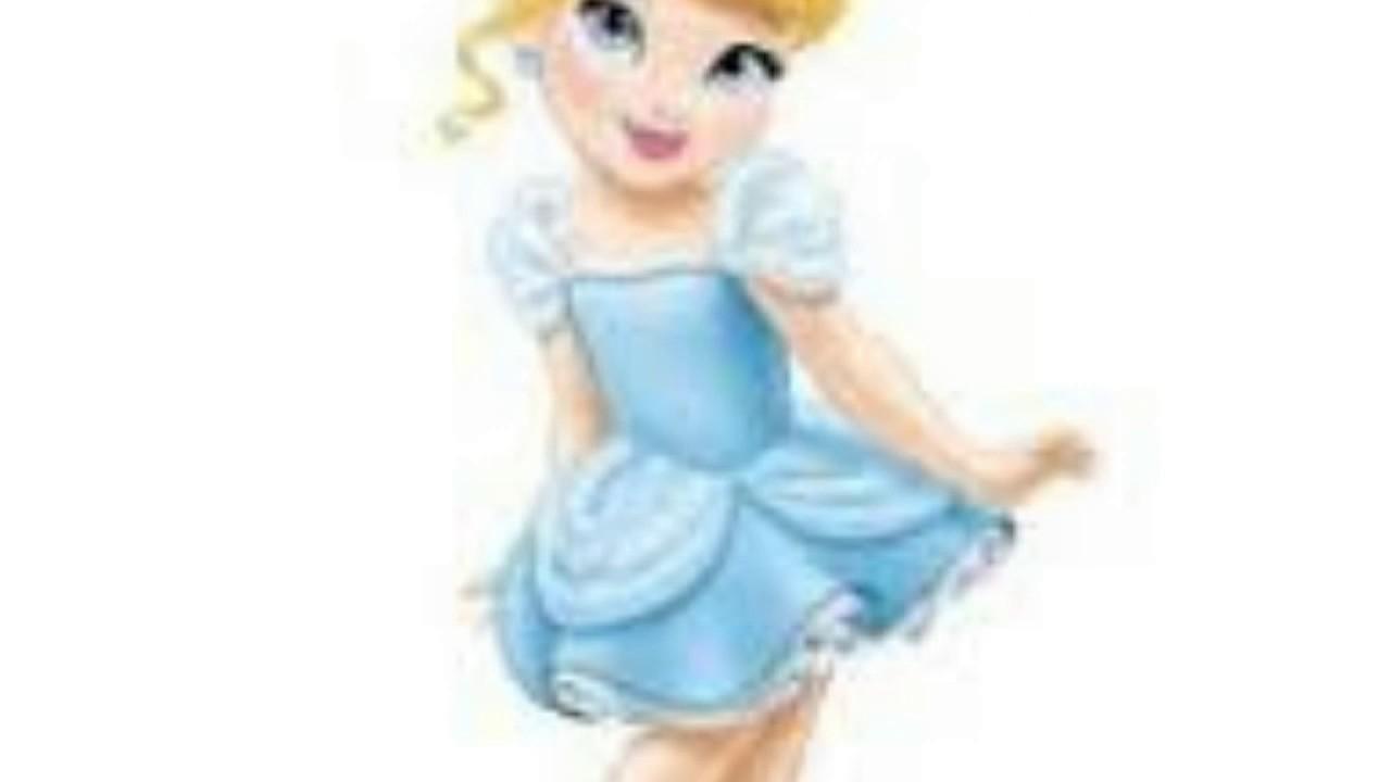 10 Dibujos Para Colorear De Disney Princesas Bebes: Princesas Disney Bebes