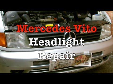 Mercedes Vito Headlight Repair