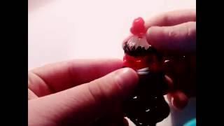 КОКА - КОЛА  из резинок на рогатке