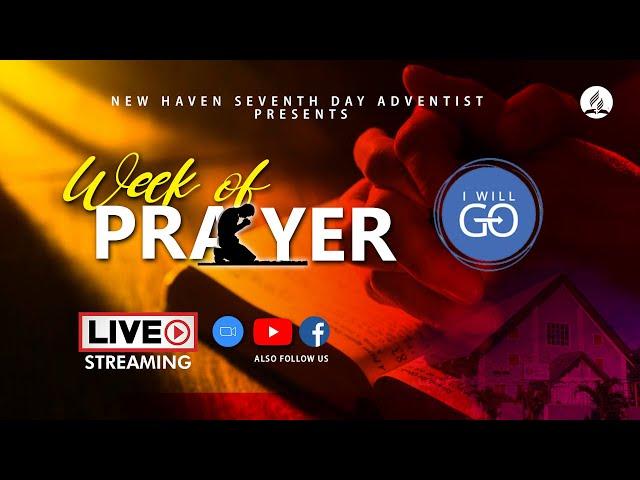 Week of Prayer  |  I Will Go |  April 3