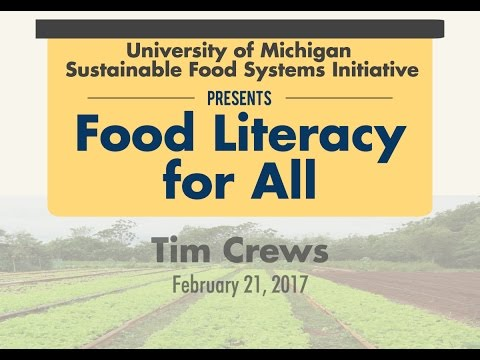 Food Literacy for All: Tim Crews - February 21st