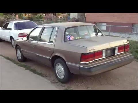 1989 Dodge Spirit 5-Speed