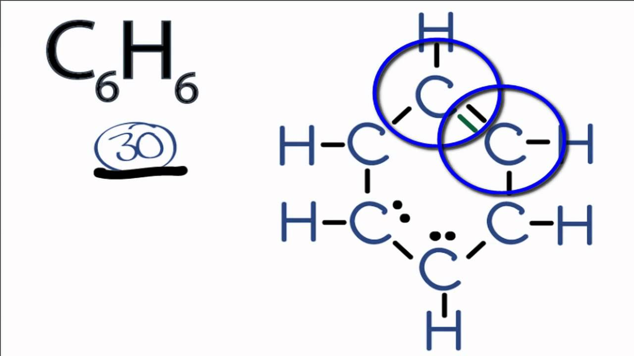 Benzene Lewis Dot Structure