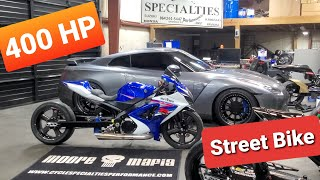 What goes into building a 400 HP Street Bike