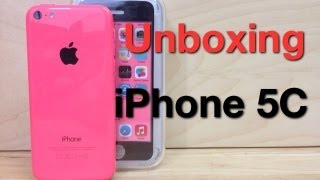 Unboxing iPhone 5C Pink