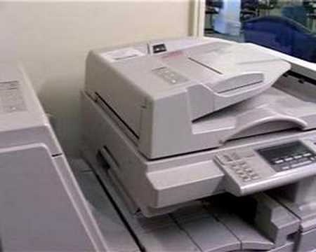 Photocopier health risks