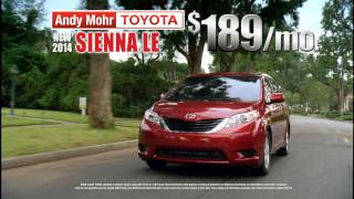 Andy Mohr Toyota - Avon, Indiana - TV Commercial March 2014