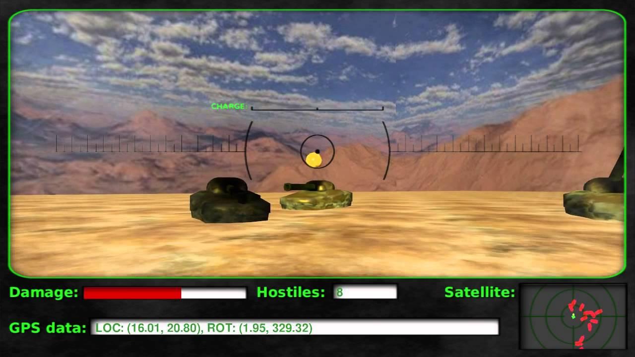 OpenGL game: Tank Battleground :: Programming blog :: www polaris64 net
