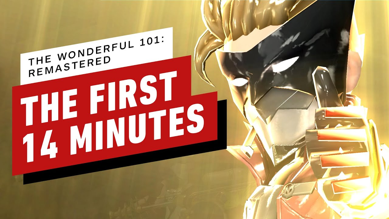 The First 14 Minutes of The Wonderful 101: Remastered - IGN