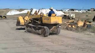 CASE 450 TRACK LOADER TEST DRIVE