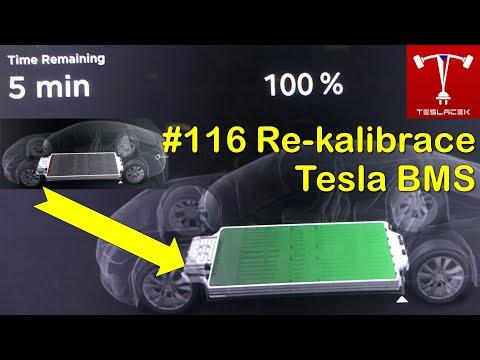 #116 Re-kalibrace Tesla Battery Management System | Teslacek