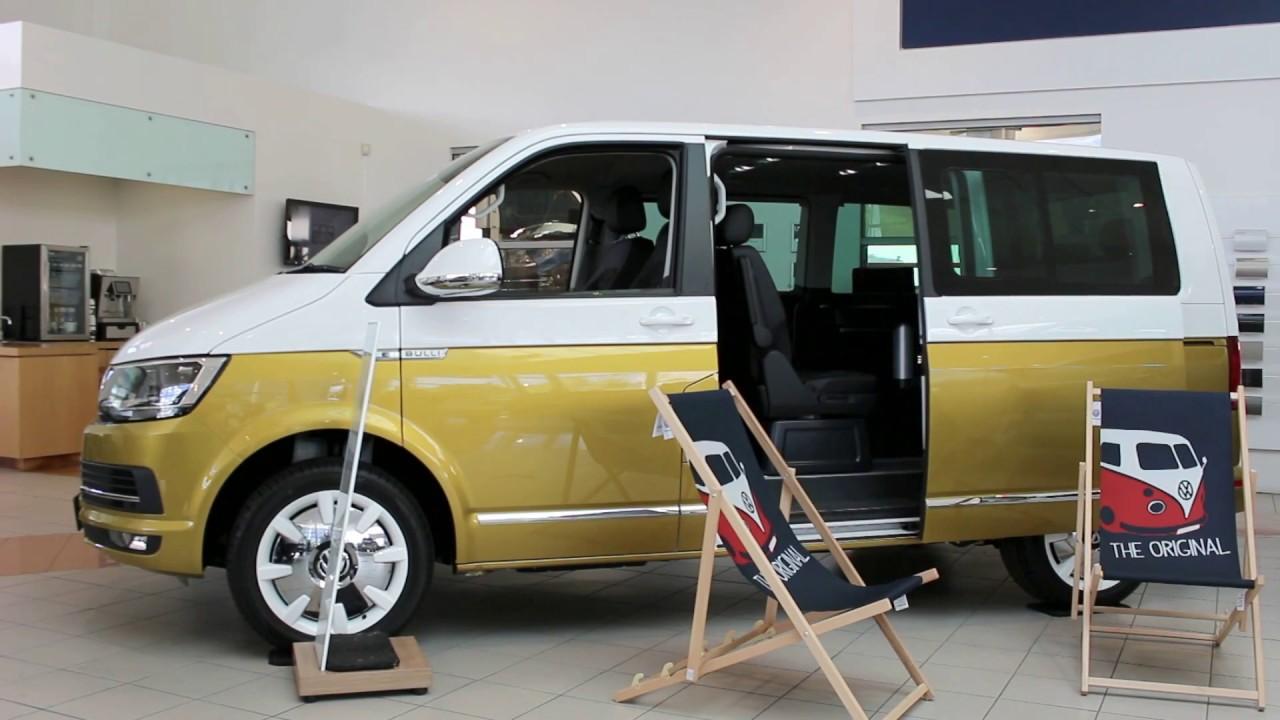 f397b171800606 Electric Sliding Doors on the Volkswagen Kombi Multivan - YouTube